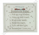 Glass Plaque Bathroom Rules 67049
